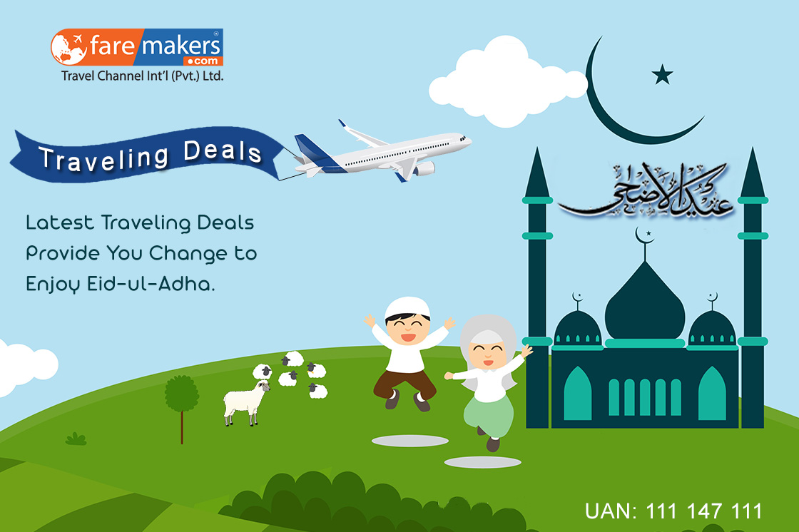 Latest Traveling Deals on Eid-ul-Adha